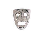 Drama Mask - Silver Charm